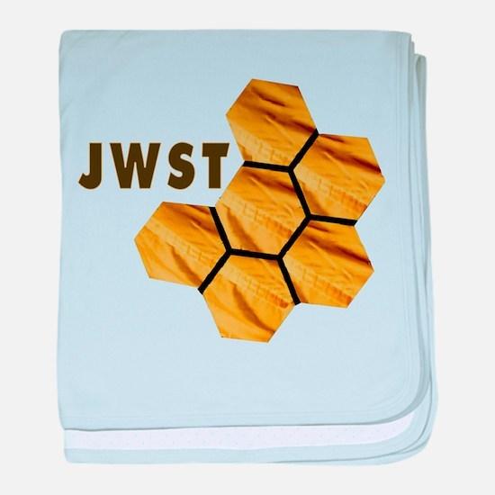 James Webb Mirror Logo baby blanket