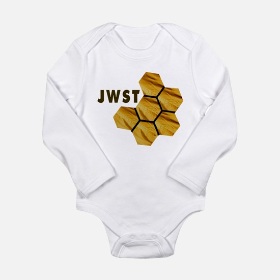 James Webb Mirror Logo Long Sleeve Infant Bodysuit
