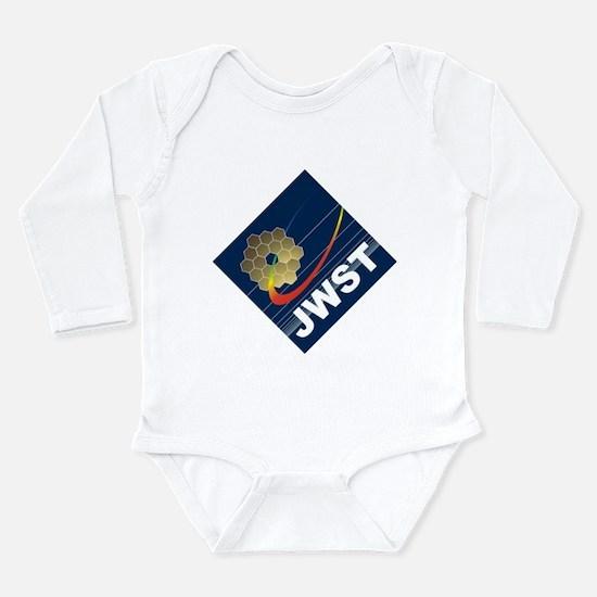 James Webb ESA Logo Li Long Sleeve Infant Bodysuit