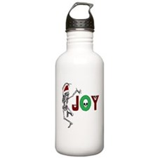 Skeleton Santa - Joy Water Bottle