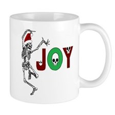 Skeleton Santa - Joy Mugs