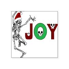 Skeleton Santa - Joy Sticker