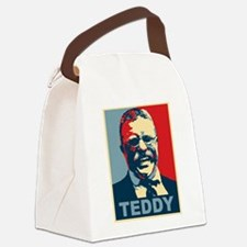 Teddy Roosevelt Canvas Lunch Bag