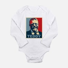 Teddy Roosevelt Long Sleeve Infant Bodysuit