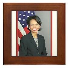 Condoleezza Rice Framed Tile