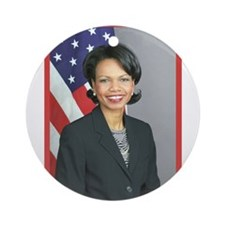 Condoleezza Rice Ornament (Round)