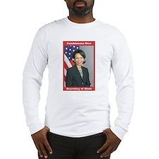 Condoleezza Rice Long Sleeve T-Shirt