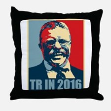 TR in 2016 Throw Pillow