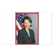Condoleezza Rice Postcards (Package of 8)