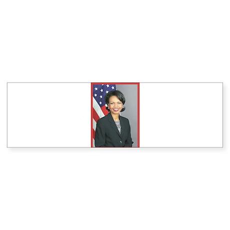 Condoleezza Rice Bumper Sticker