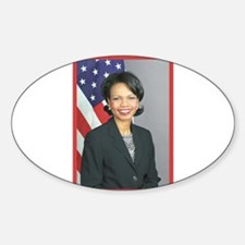 Condoleezza Rice Oval Decal
