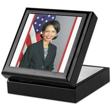 Condoleezza Rice Keepsake Box