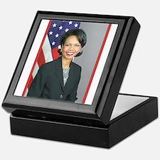 Condoleezza Rice Keepsake Box