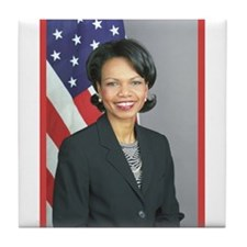 Condoleezza Rice Tile Coaster