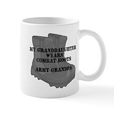Army Grandpa Granddaughter Combat Boots Mugs