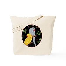 Indian Ringnecks Tote Bag