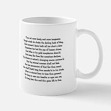 Sonnet 18 Mug