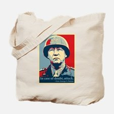 Patton Attack Tote Bag