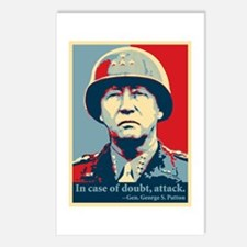 Patton Attack Postcards (Package of 8)