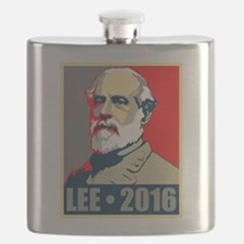 Lee for President Flask