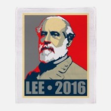 Lee for President Throw Blanket