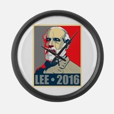 Lee for President Large Wall Clock