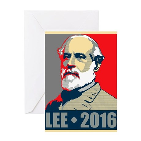 Lee for President Greeting Card