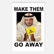 OBAMA MUSLIM Postcards (Package Of 8)