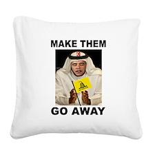 OBAMA MUSLIM Square Canvas Pillow