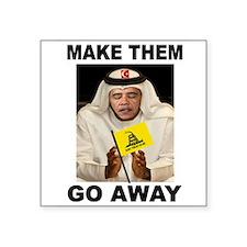 OBAMA MUSLIM Sticker
