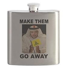OBAMA MUSLIM Flask