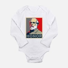 General Lee Long Sleeve Infant Bodysuit
