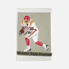 Monday Night Football Rectangle Magnet