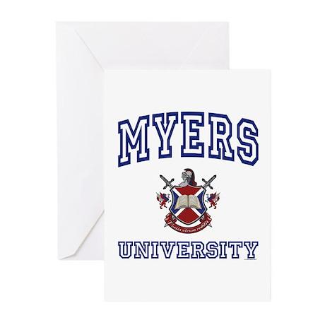 MYERS University Greeting Cards (Pk of 10)