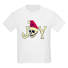 Joy - Santa Skull T-Shirt