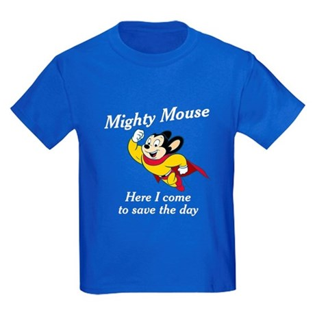 Mighty Mouse Kids Dark T-Shirt