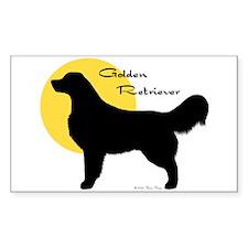Spotlight on Goldens Sticker (Rect.)