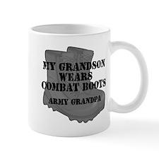 Army Grandpa Grandson Combat Boots Mugs