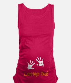 Let Me Out! Maternity Tank Top