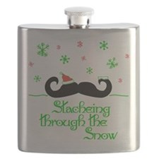 Stacheing Through the Snow Flask