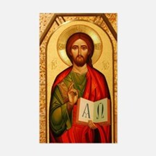 Christ the Teacher Sticker (Rectangle)
