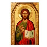 Christian icon Postcards