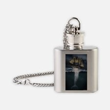MobyDick  Flask Necklace