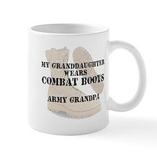 Army Grandpa Granddaughter wears DCB Mugs