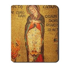 St Catherine of Alexandria Mousepad