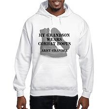 Army Grandpa Grandson wears CB Hoodie