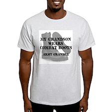 Army Grandpa Grandson wears CB T-Shirt