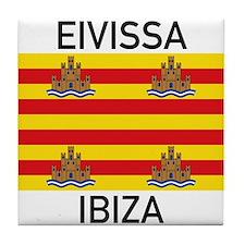 Ibiza Tile Coaster