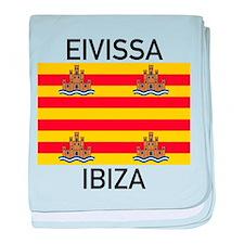 Ibiza baby blanket