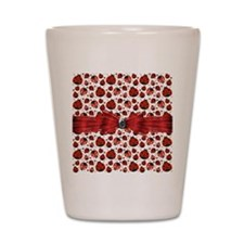 Ladybug Obsession Shot Glass
